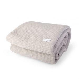 Higham Bedspread / Throw - Grey
