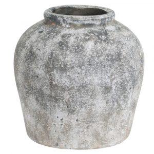 Huntingdon Round Stone Vase