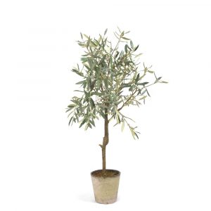 Medium Faux Olive Tree in Pot