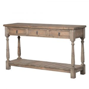 Oakham Wooden Console Table with Drawers