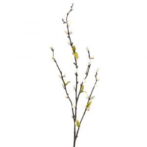 Artificial Pussy Willow Stem
