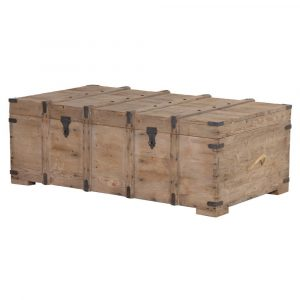 Ravenstone Wooden Chest - Closed