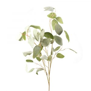 Artificial Silver Leaf Eucalyptus Foliage Stem