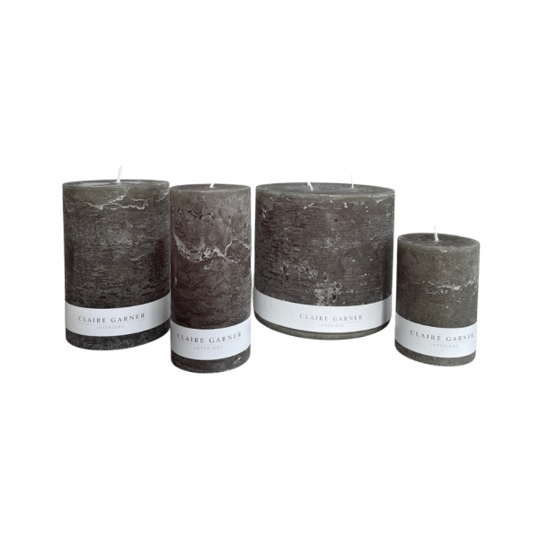 Rustic Olive candle group