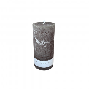 Rustic Olive Tall Pillar Candle