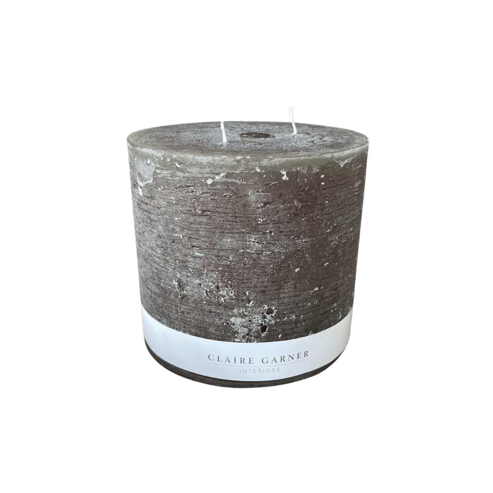 Rustic Olive Triple Wick Candle